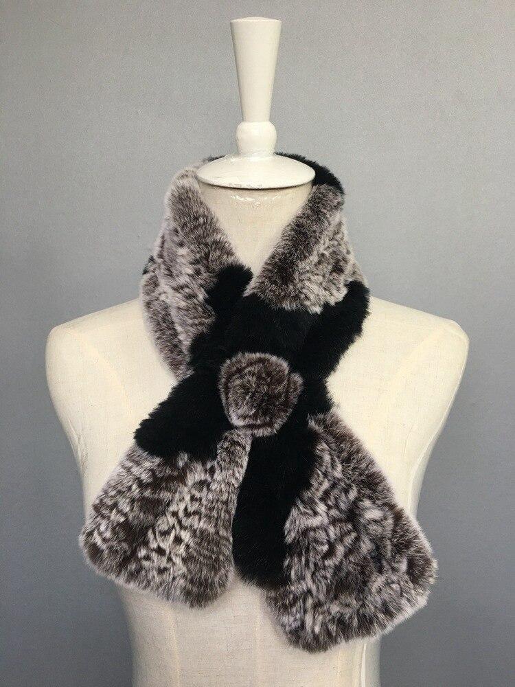natural rabbit fur scarves (5)