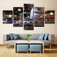 Star Wars Lightsaber Millennium Falcon Modular High Quality Poster for Room Wall Art Decor Oil Painting Fashion Gifts Unframed
