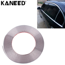 KANEED Car Moulding Trim Strip Car Door Scratch Protector Motorcycle Reflective Body Rim Stripe Sticker DIY Self-Adhesive Tape(China)