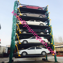 vertical car parking system/easy parking/12-car lift/vertical rotary parking equipment 2017(China)