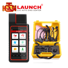 Launch X431 Diagun IV with yellow case full adaptors Diagnotist Tool Free Update Online X-431 Diagun IV Code Scanner DHL free