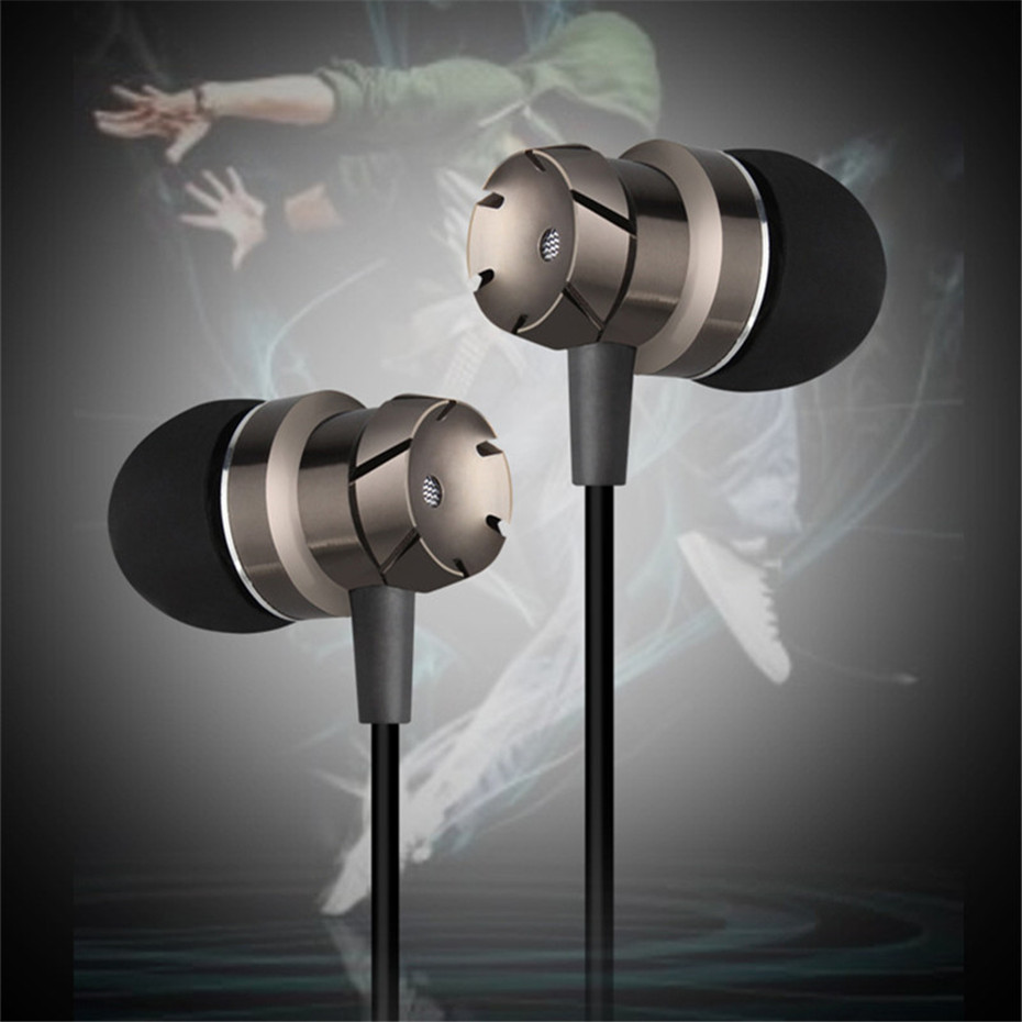 ME30 Metal Earphones Sports Noise Cancelling Headphones for Phone Stereo Headset with Mic for Xiaomi Computer iPHone (1)