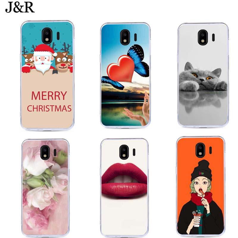 For Samsung Galaxy J4 2018 Case Silicone TPU Cover for Samsung Galaxy J8 J2 J6 2018 Cover for Samsung J4 PLUS 2018 Cases