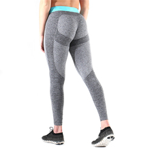 Women Sports Pants Trousers Middle Waist Pant Fitness Exercise Running Jogging Tights Sportwear Yoga Leggings Drop Shipping