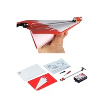 Free Shipping Paper PLANE Power Up Electric Airplane Conversion Kit Fashion Educational Children Kids Toys Brain Tease Airplane
