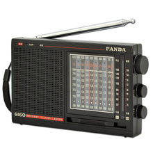Panda 6160 Radio FM / Medium Wave / Shortwave / Campus Secondary Frequency High Sensitivity Pointer Operation High Anti-Interfer(China)
