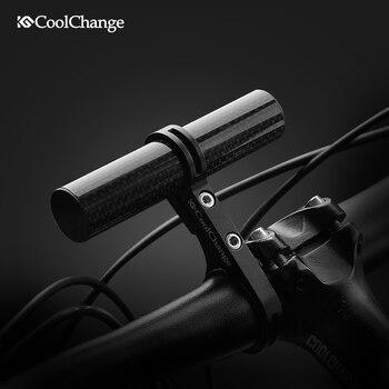 CoolChange vtt vélo phare rack d'extension monte Vélo T-cadre guidon adaptateur