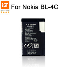 2017 New 100% IST BL-4C Original Mobile Phone Battery For Nokia BL 4C 5100 6100 1202 1265 1325 1506 1508 Replacement Battery(China)