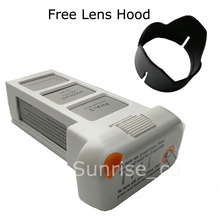 4500mAh Intelligent Replacement Flight Battery for DJI Phantom 3 Drones Upgraded with Free Lens Hood(China)