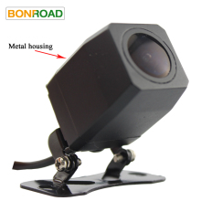 Bonroad Universal Reverse Camera with Metal Housing,170 Degree Wide Angle,With Reference Line,Night Vision,reversing Backup(China)