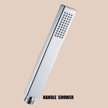 Brass hand shower nozzle single function hand-held shower bathroom shower head bathroom accessories
