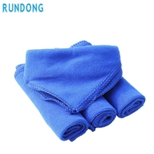AUTO car-styling 1 pc blue 30*30cm Soft car wash car detailing microfiber towel felt Auto Wash Dry Clean Polish Cloth Au 04