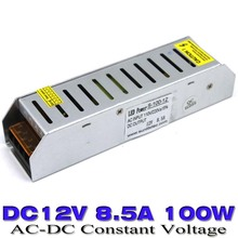 Single Output  Power supply dc 12V 8.5A 100W Regulated Switching Switch Power Adapter Transformer 100-240V AC-DC UPS