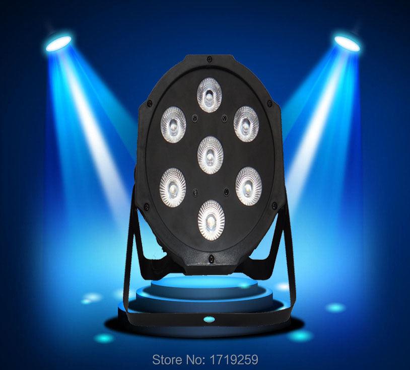 20 pieces Fast Shipping LED SlimPar Quad 7x12W RGBW LED Stage Wash Par Light DJ 8 Channels<br><br>Aliexpress