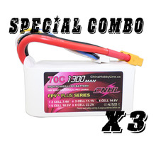 CNHL G+PLUS LI-PO 1300mAh 14.8V 70C(Max 140C) 4S RFI Lipo Battery Pack for RC Hobby with free shipping