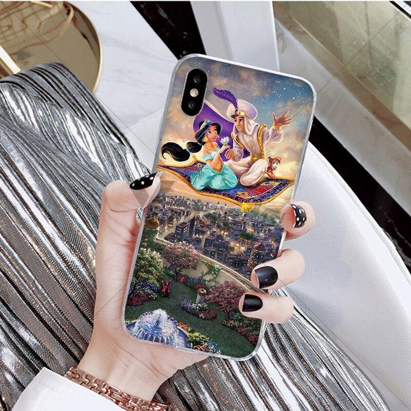 Aladdin and Jasmine cartoon