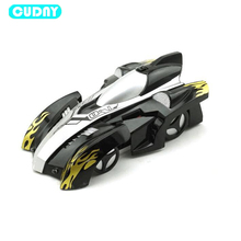 CUDNY Toy Baby Mini Wall Ceiling Glass Climbing RC Remote Control Car Toys Children Drift Electric Car Kids Light Christmas Gift(China)