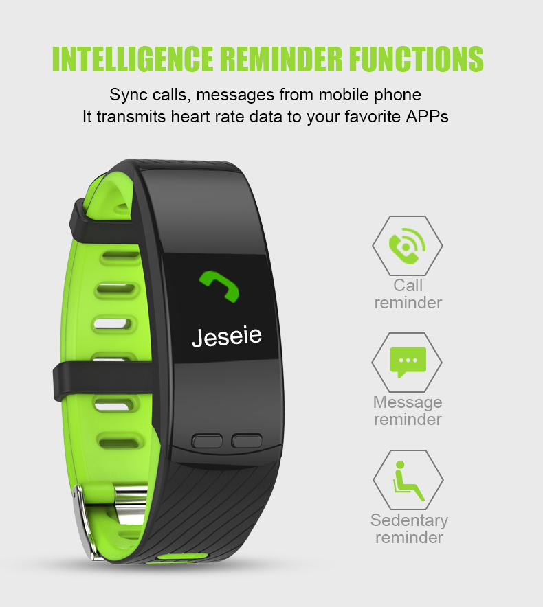 2018 P5 Smartbrand GPS - Smart Heart Rate Monitor Smart Band Watch Phone Activity Tracker (13)
