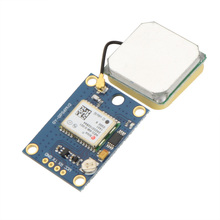 High Precision New Ublox NEO-6M GPS Module with EEPROM for MWC AeroQuad Antenna Flight Control and Multirotor RC Drone Part(China)