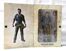 NEW POP Game Uncharted 4 A Thief's End Ultimate Nathan Drake NECA Action Figure 18cm