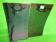 Black Color 100W flexible solar panel; semi flexible solar panel; sunpower solar cell; 12V solar system usage