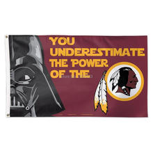 Washington Redskins Star Wars Outdoor Indoo American Team Football Team Flag 3X5FT Drop Shipping Custom Club Sport Flag