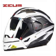 ZEUS fashion half and full face modular function DOT approved four seasons double lens durable and breathable motorcycle helmet