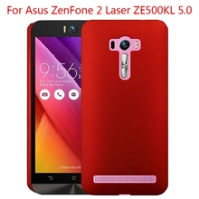 For ASUS Zenfone 2 Laser ZE500KL Ultra Thin Anti-skid Rubber Matte Back Cover Hard PC Plastic Protective CellPhone Shell Cases