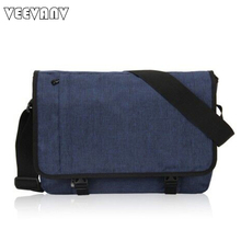 2017 Designer Postman Men's Buisness Crossbody Bags Attache Laptop Case Office Briefcase Men Messenger Bags Canvas Shoulder Bags(China)