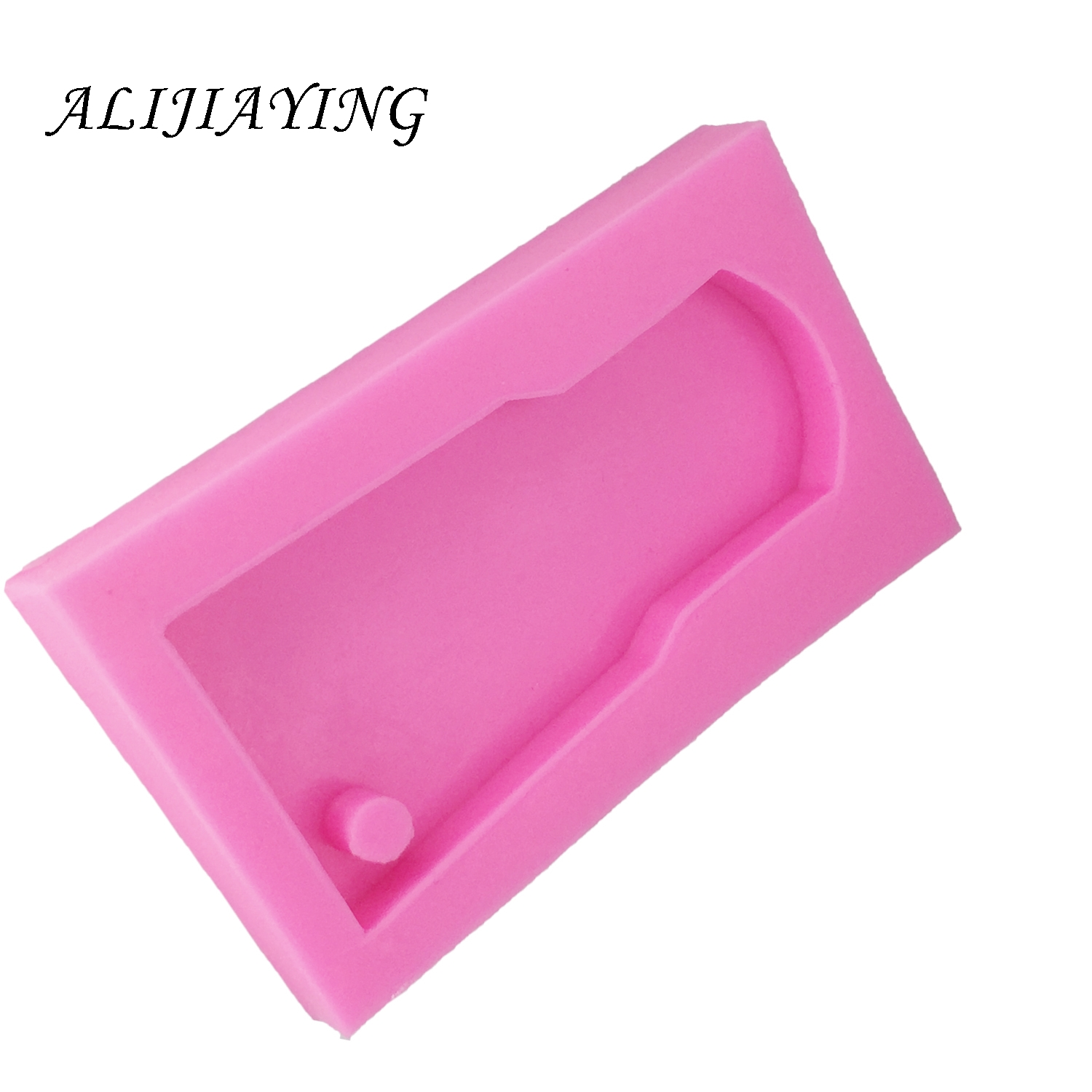Unicorn Silicone Keychain Mold Perforated Resin Clay Mold Crafts Tools Moulds for Plaster Silicone Keyring Epoxy Mold