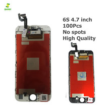 Competitive price Grade AA 4.7 inch LCD black and white For iPhone 6S Display 3D Touch Screen Digitizer Replacement 100PCS DHL(China)