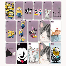 Cute Minions Cat Mickey & Minnie Kiss Hard  Cover Case for Lenovo S850 90 60A536 328 &Nokia 535 630 730 640 XL&Sony Z2 3 4