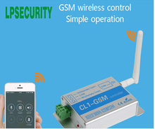 CL1-GSM Wireless Remote Access Control GSM Gate Opener GSM & SMS Smart Home Security System Switch