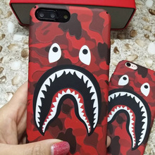 Fashion Lover Shark Hard PC Case For iPhone 7 Colorful Classic Back Cover For iphone 6s 6 plus Comprehensive phone cases(China)