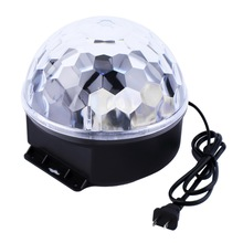 Hot 6 Colors LED Crystal Magic Ball Effect Light for Disco DJ Stage Party  New