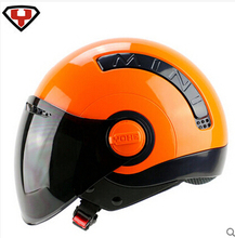 2014 New arrival YOHE MINI Summer Half Face off road Motorcycle helmet motorbike Electric bicycle helmets ABS Free shipping(China)