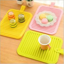 30*45cm Square Placemats PVC Bar Mats Manteles Individuales Doilies Cup Mats Coaster Pads&Mats(China)
