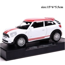 2017 new mini pull back car educational electronic flashing model toy car diecast metal 1:32 scale car model hot freeshipping