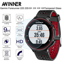 Dla Garmin Forerunner 235 szkło hartowane 9 H 2.5D Premium Screen Protector Film dla Garmin 235/225/230 /220/620/630 smart watch(China)