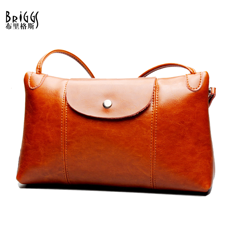 BRIGGS Brand Women Flap Bag High Quality Women Messenger Bags Lady Casual Bags Genuine Cow leather Crossbody Bags Fow Women<br><br>Aliexpress