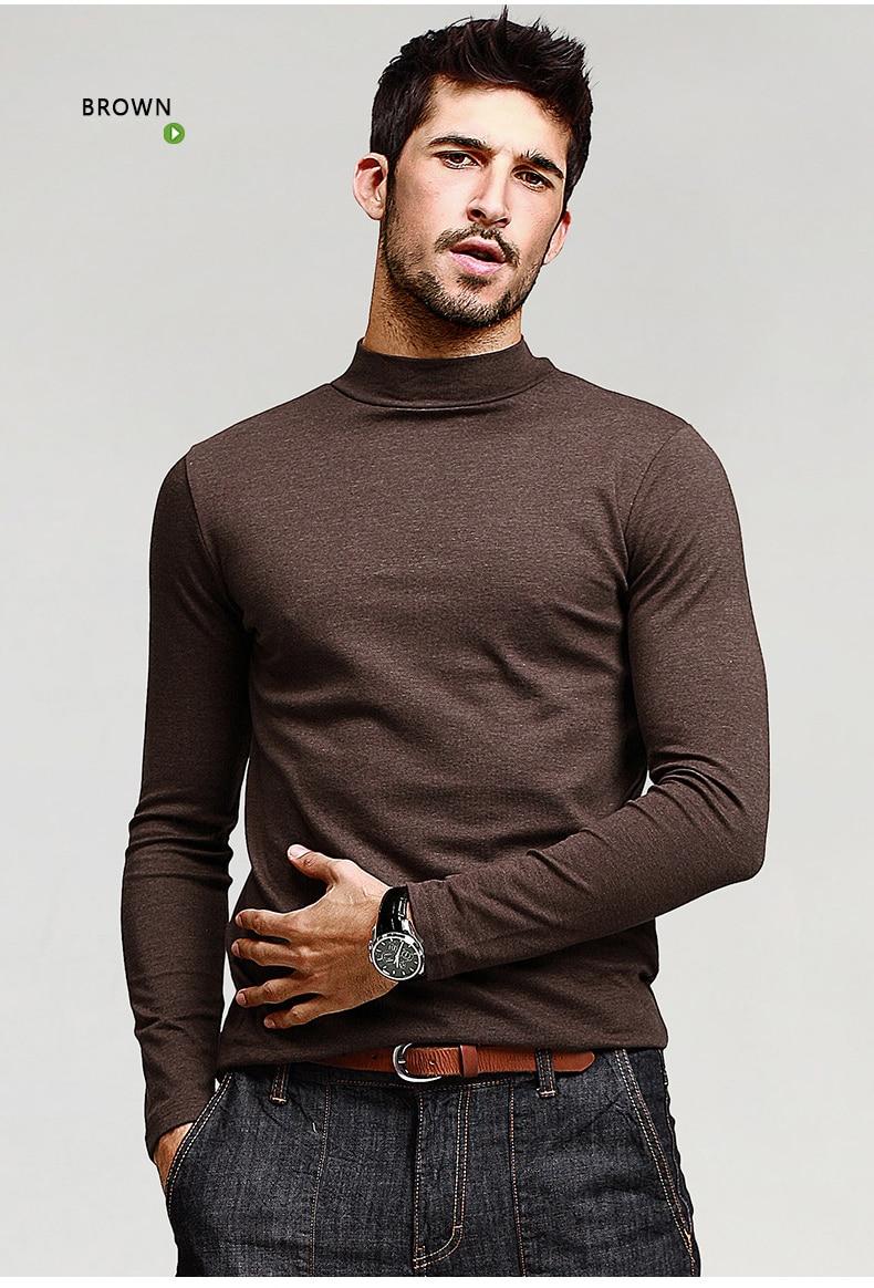 HTB13dJdNFXXXXcKXVXXq6xXFXXXv - KUEGOU Mens Casual T Shirts 5 Solid Color Brand Clothing For Man's Long Sleeve Slim T-Shirts Male Wear Plus Size Tops Tees 803