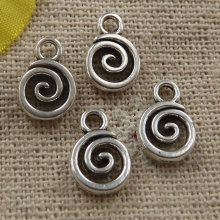 660 pieces tibetan silver nice charms 11x8mm #4368