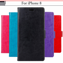 Buy EiiMoo Phone Case iPhone 8 iPhone8 Case Funda Silicone Stand Wallet iPhone 8 Cover Flip Leather Cover iPhone 8 Case for $5.64 in AliExpress store