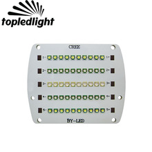 Topledlight Customize 5 Channel 50LEDS DIY Fish Tank Aquarium Led Emitter Lamp Light Cree XPE XP-E + Epileds Led Bulb Lamp Light