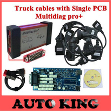 multidiag cdp scan obd diagnostic too no bluetooth OBD2 Scanner plus truck cables for tcs diagnostic-tool Interface Code Scanner