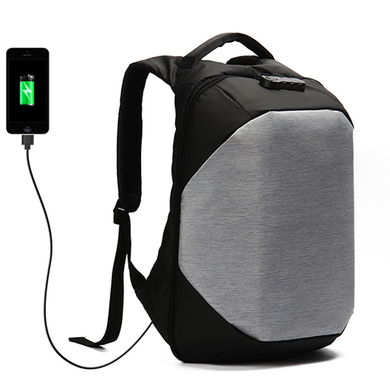 USB Charging School Backpack 15.6 Inch Laptop Backpacks Men Waterproof Mochila Casual Business Travel Anti Theft Back Pack Male<br>