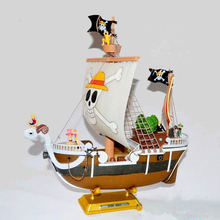 One Piece Thousand Sunny Assembly Action Figure 1/8 scale painted figure Going Merry Assembly Boat PVC figure Toys Brinquedos(China)