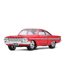 JADA 1:32 Chevrolet Chevy Impala Alloy Car Model Metal Diecasts Toy Vehicles Model For Kids Gift Toys Free Shipping(China)