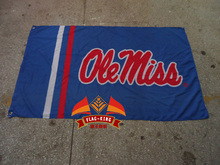 University of Mississippi flag ,Ohio State Brand,100% Polyester 90x150cm exhibit and sell banner, selling at expositions flag
