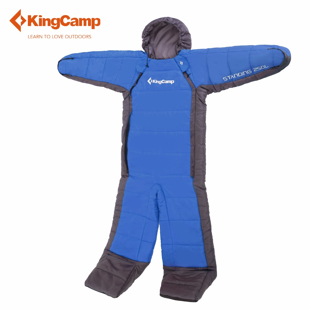KingCamp lazy bag tourist sleeping bag adult camping equipment 190cm Longth Outdoor travel Warm and freedom Large size<br><br>Aliexpress
